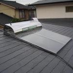 太陽熱温水器・屋根塗装工事