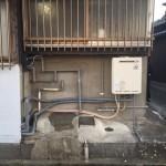 ガス給湯器(オート式)取付工事