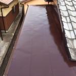 太陽熱温水器撤去・板金塗装工事