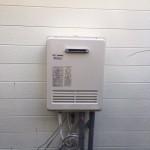 太陽熱温水器修理・ガス給湯器(オート式)取付工事
