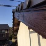 破風板・軒天塗装工事