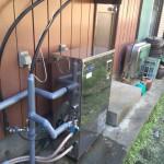 石油ボイラー取付工事