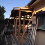 1階増築工事(外装)