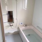 漆喰・ガス給湯器・浴室改修工事