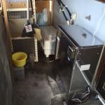 石油ボイラー(ブレンダー内蔵オートタイプ)取付・一部浴室改修工事