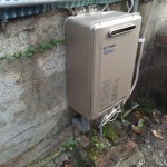太陽熱温水器撤去・ecoジョーズ(給湯専用)取付工事