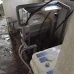 石油ボイラー(ブレンダー内蔵型オートタイプ)・砂こし器取付・ソーラーメンテナンス工事