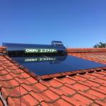 太陽熱温水器・蛇口取付工事
