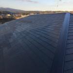 屋根塗装・庇取付工事