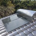 新古太陽熱温水器取付・太陽熱温水器撤去工事