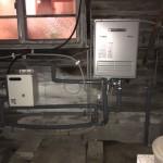 ガス給湯器(ecoジョーズ)・ソーラー接続ユニット取付工事
