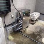 灯油ボイラー(KIBF-4565MA)取付・灯油タンク(LOT-90)・ソーラーメンテナンス工事