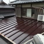 板金屋根塗装・漆喰破損箇所修繕工事