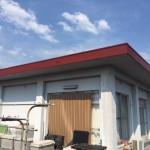 太陽熱温水器撤去・屋根防水、塗装工事