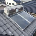 ソーラーメンテナンス /太陽熱温水器撤去工事