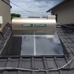 太陽熱温水器取付 / 太陽熱温水器撤去工事