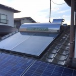 太陽熱温水器・SRリモコン取付工事