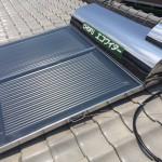 太陽熱温水器取付・板金塗装・瓦止め工事