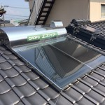 太陽熱温水器撤去・屋根修繕工事