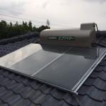 太陽熱温水器(SW1-311L)・灯油ボイラー(KIBF-4565MA)取付工事