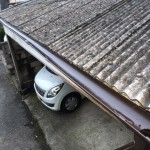 駐車場一部改修工事