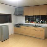 住宅改装工事④(キッチン改装、フローリング上貼り、クロス貼替え編)