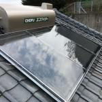 太陽熱温水器・ソーラー接続ユニット取付工事
