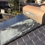 太陽熱温水器(sw1-202)取付工事