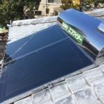 太陽熱温水器・SRリモコン・ガスボイラー取付工事