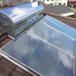 太陽熱温水器撤去工事