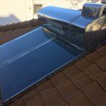 太陽熱温水器撤去・劣化箇所漆喰修繕工事