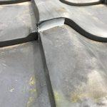 太陽熱温水器撤去と撤去後の瓦止め工事