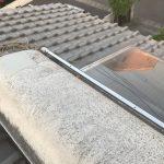 太陽熱温水器と蛇口の撤去工事
