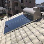 太陽熱温水器 入替え工事