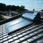 太陽熱温水器 機種交換工事