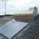 太陽熱温水器撤去・新規取付工事