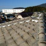 屋根漆喰塗り替え工事