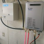 新規給湯システム設置工事