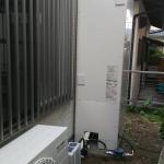 井戸水専用エコキュート・加圧ポンプ取り付け工事
