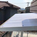 バルコニー波板貼り替え・エアコン洗浄
