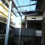 浴室改装・テラス屋根工事