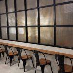 2階飲食スペースカウンター増設工事