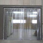 仕切り壁造作・ビニールカーテン設置工事