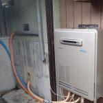 太陽熱温水器撤去・新規エコジョーズ取り付け工事