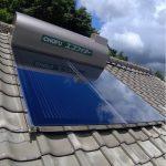 太陽熱温水器 機種交換(移設)