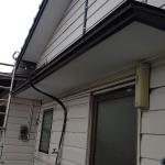 太陽熱温水器メンテナンス・庇屋根板金貼替工事